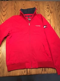 BNWT Tommy Hilfiger Yacht Jacket - Red, size small for men Prince George, V2N 6R8