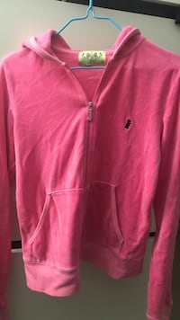 Juicy pink zip up/ size: large Vancouver, V5P