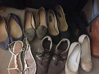 Bag of assorted women's shoes - size 8 Vancouver, V6B 1R1