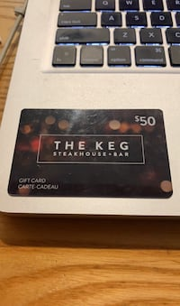 The Keg Steakhouse $50 Gift Card