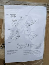 Sofa Frame and Cushions - Delivery  Toronto, M1H