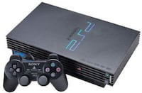 Black sony ps2 console with controller Calgary, T3E 2H1