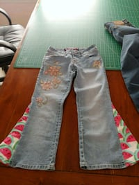 Hippy Flare Jeans Girls Size 1  Bunker Hill, 25413
