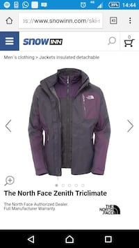 THE NORTH FACE Kombi Zenith Triclimate jacka
