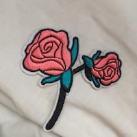 Iron On Rose Patch Winnipeg, R2L 0A6