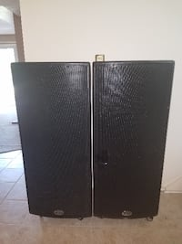 Pair of B 52 ACT 1515 Dual 15 Inch Two Way Powered Speakers VIENNA