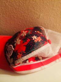 red and white floral print ball Summerfield, 34491