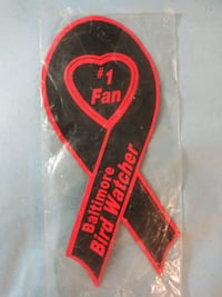 #1 fan Baltimore Bird watcher ribbon magnet