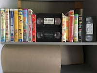 16 children's VHS tapes .  Toronto, M2M 2A9