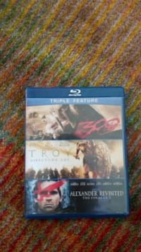 Triple feature movies Alexandria, 22304