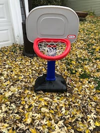 black and red Little Tikes basketball hoop Kenmore, 14217