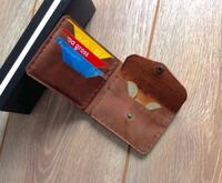 Leather Wallet, Cash Wallet, Personalized Leather Wallet, Mens Wallet Vienna, 22182