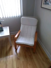 Sling chair with cushion