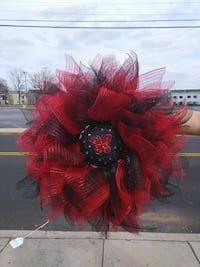 red and brown floral wreath Hagerstown, 21740