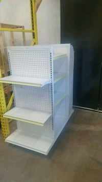 display store shelves 4 sided rolling unit Arbutus, 21227