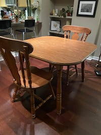 Wood Kitchen Table Set