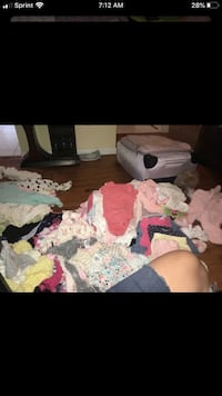 Large bags of gently used baby clothes sizes newborn -9 months