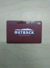 $25 gift card for Outback Steakhouse Los Angeles, 91304