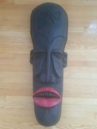 African Mask 50$ only! (Negotiable) Montréal, H4P 1K8