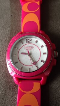 Mint Coach watch authentic
