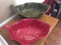 Leaf serving bowls Manassas, 20112