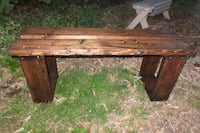 brown wooden single pedestal desk Maple Ridge