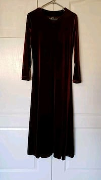 women's red long sleeve dress Vaughan, L4H 2L3