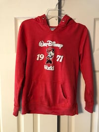 Disney Minnie Mouse, Sz Youth Large, Red Hooded Pullover Baltimore, 21236