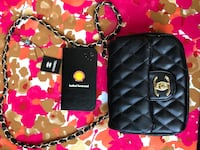 quilted black leather Chanel crossbody bag Edmonton, T6J 4T1
