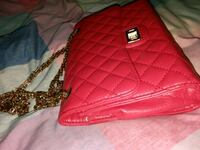 red leather quilted crossbody bag Surrey, V3W