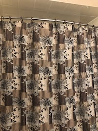 Shower curtain with liner Vaughan, L4J 6Y3