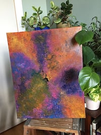 Lucy - Original Abstract Painting  Toronto, M3A 2R6