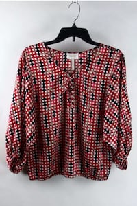 EUC Laundry by Shelli Segal blouse sz 6