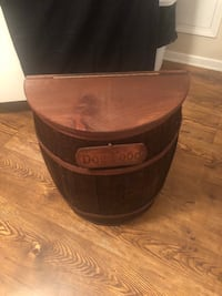 Whiskey barrel container, $90 or $165 for both Rockvale, 37153