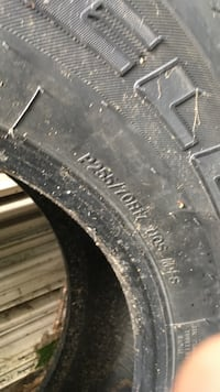 Excellent condition 2- truck tires 255/70/17 Standish, 04084