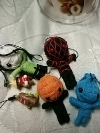Zombie doll and domo key chains  Brampton, L6X