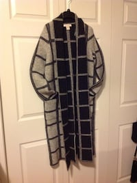 Black and gray wool long sweater (never used) 3159 km