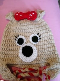 Crochet 12/3years character hat. I can make in other sizes if want. Georgetown, 37336