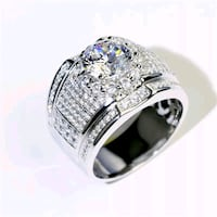 Brand new 925 sterling silver men rings Del City