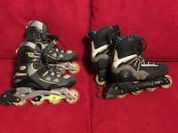 two grey-and-black inline skates Riverdale, 20737