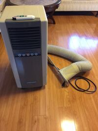 Used Daewoo Portable Air Conditioner Unit With Remote