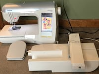 Brother 2500D Embroidery Sewing Machine with over 140 thread Mechanicsville, 20659