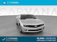 2010 Chevy *Chevrolet* *Camaro* LT Coupe 2D coupe SILVER Fort Myers
