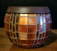 Partylite Glass Mosaic Harvest Tealight Holder Abbotsford, V2S