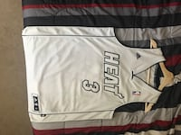Adidas NBA OFFICIAL Miami Heat (White Hot) Jersey Doral, 33178