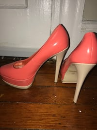 Two Tone High Heels Size 9