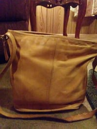 women's brown leather shoulder bag Cayce, 29033