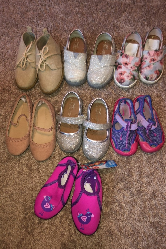 Photo Toddler girl shoes size 6