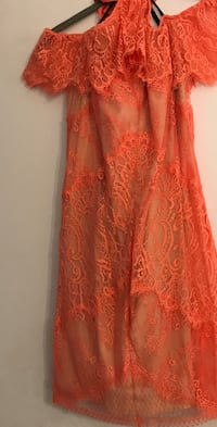 Women's orange lace dress Beltsville, 20705