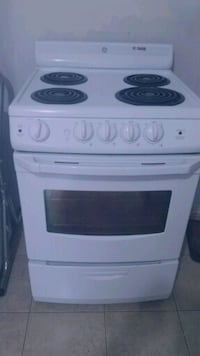 """24""""STOVE WHITE ELECTRIC GE NEW  Vaughan, L4K 1A4"""